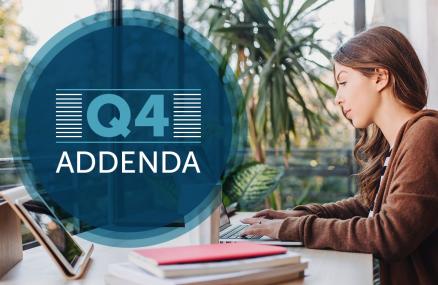Q4 Addenda