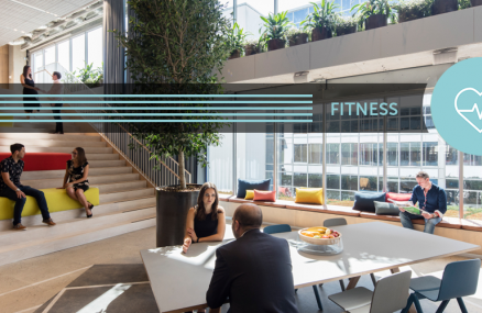 Fitness concept at Frasers Property Australia